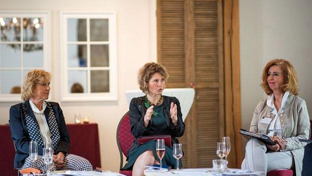 Eveline Lemke bei Veranstaltung vom Verband der Unternehmerinnen
